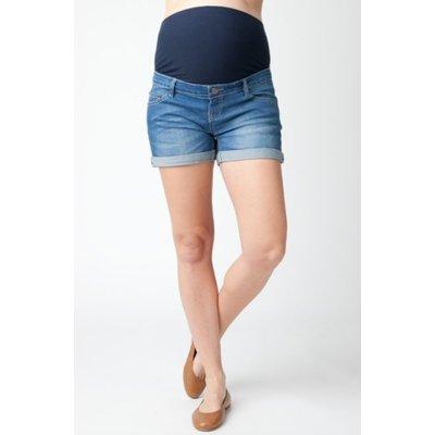 Ripe Maternity Denim Shorty Shorts
