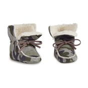 Mud Pie CAMO SHERPA BOOTIES