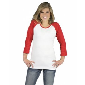Monag Ladies 3/4 Sleeve Raglan Tee