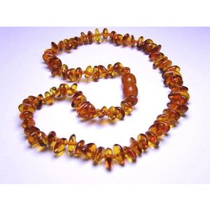 Momma Goose Amber Chip Necklace