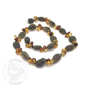 Momma Goose River Rocks Necklace
