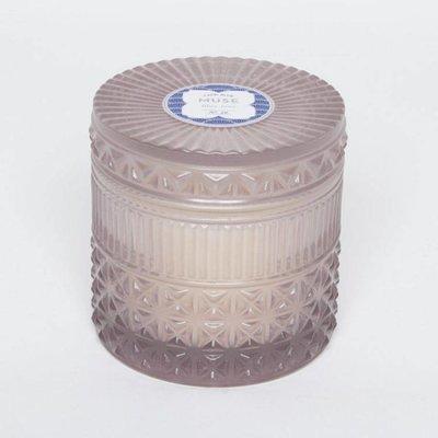 DPM FRAGRANCE Faceted Jar.Blue Jean
