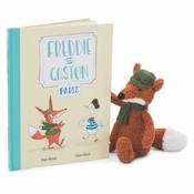 JellyCat Freddie and Gaston in Paris Book