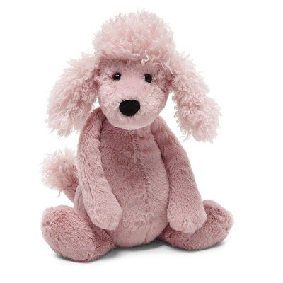 "JellyCat Bashful Poodle Medium 12"""