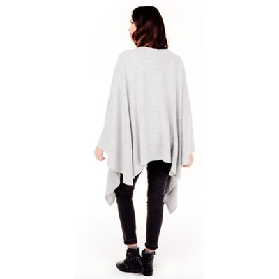Ingrid & Isabel Heather Grey Cozy Wrap.OS