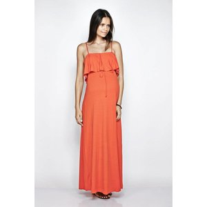 IMANIMO BELLA DRESS - TANGERINE - XS