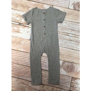 Grey Neutral Romper.18M