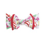 Baby Bling Trimmed Printed Knot (Ornament)