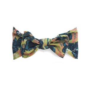 Baby Bling Printed Knot (Fall Vintage Rose)