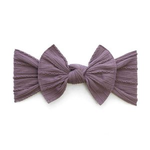 Baby Bling Cable Knit Knot (Lilac)