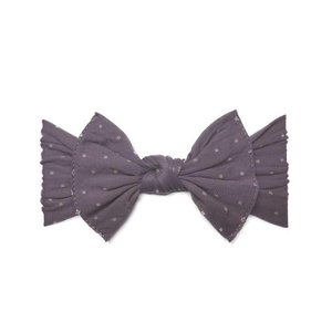 Baby Bling Patterned Knot (Lilac Dot)