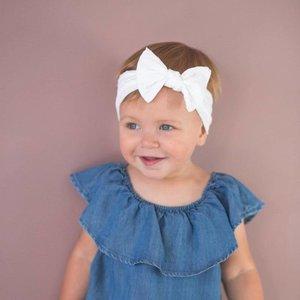 Baby Bling Patterned Shabby Knot (White Dot)