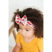 Baby Bling Printed Knot (Heart Lollipop)