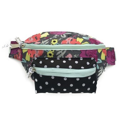 Baby Bling Fanny Pack (Floral/Dot)