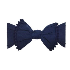 Baby Bling Trimmed Classic Knot (Navy)