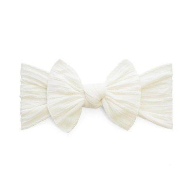 Baby Bling Cable Knit Knot (Ivory)