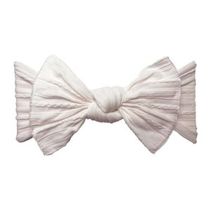 Baby Bling Cable Knit Knot (Ballet Pink)