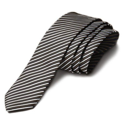 Appaman Black STRIPE TIE.OS