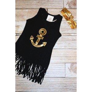 Lincoln&Lexi Anchors Away Fringe Dress & Headband