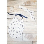 Lincoln&Lexi Anchor Baby Romper & Headband Set