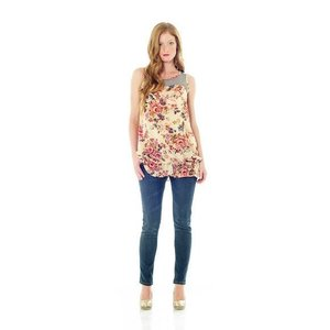 Lilac Holly Top Floral A