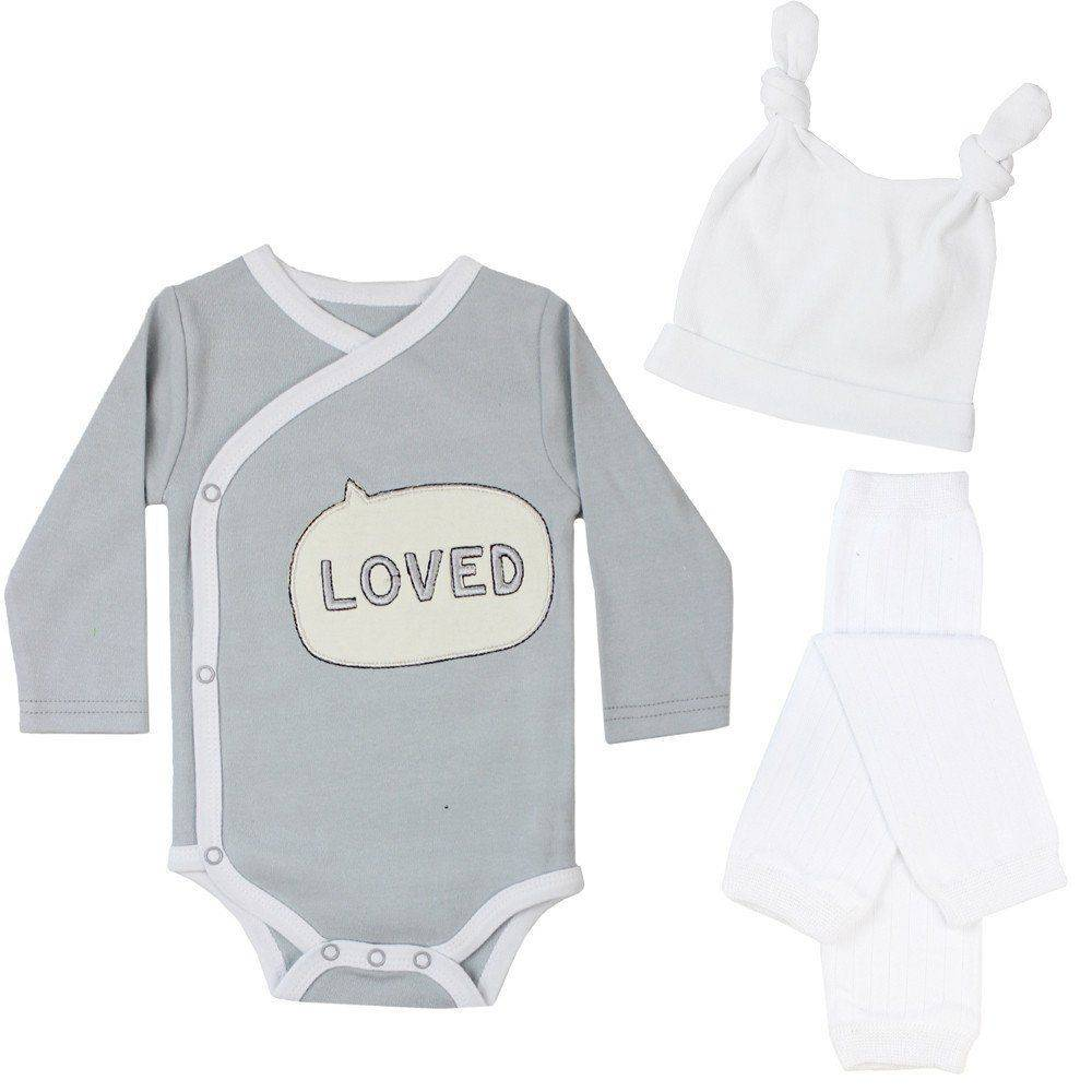 juDanzy Loved Baby Gift Set - Lincoln&Lexi