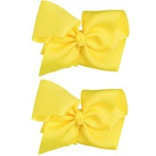 juDanzy Extra Large Hair Bow-Yellow