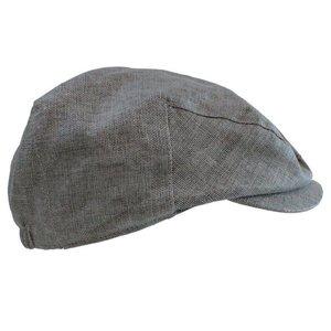 juDanzy Chambray Cabbie Hat.Grey