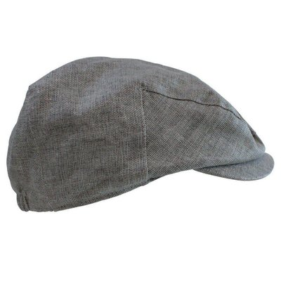 juDanzy Chambray Cabbie Hat.Grey