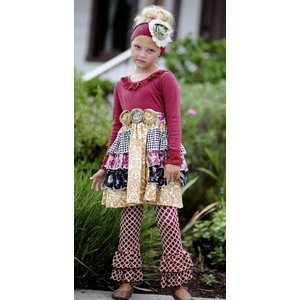 GiggleMoon Gracie Dress w/ Ruffle Leggings