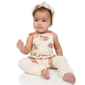 juDanzy Cream Rouched Leg Warmers