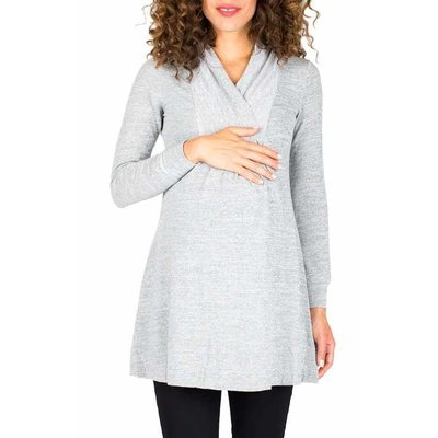 NOM CHELSEA SWEATER.GREY.L