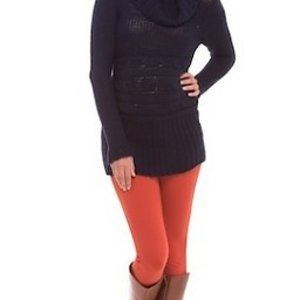 Olian Long Sleeve Cowl Neck Sweater