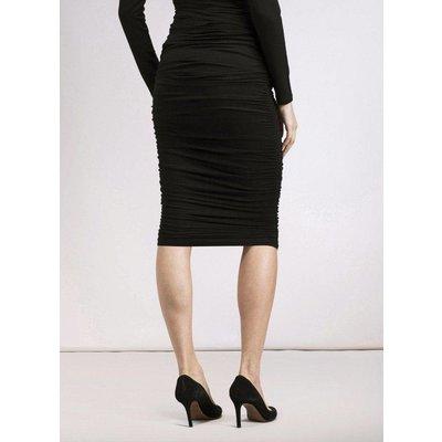 Isabella Oliver Midi Ruched Skirt