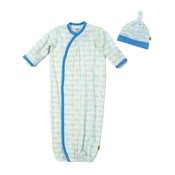 Magnificent Baby Robots Modal Magnetic Gown Set