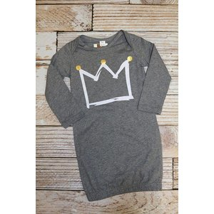 Magnificent Baby Crown Gown