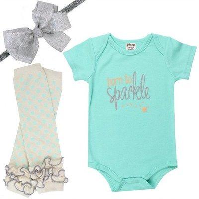juDanzy born to sparkle gift set.9-12m