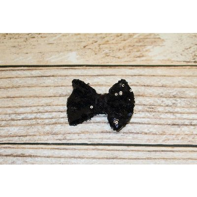 """Lincoln&Lexi 3"""" Solid Sequin Bow Clip"""