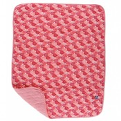 Kickee Pants Print Quilted Stroller Blanket (Roses - One Size)