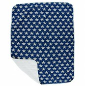 Kickee Pants Print Quilted Stroller Blanket (Vintage Stars - One Size)