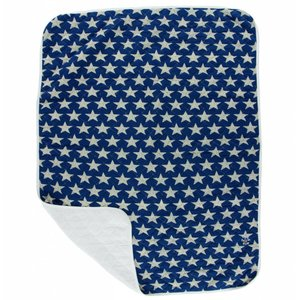 Kickee Pants Print Quilted Stroller Blanket (Vintage Stars - One Size)