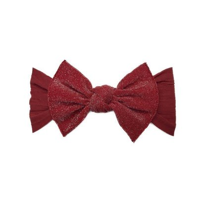 Baby Bling Metallic Knot (Cherry)