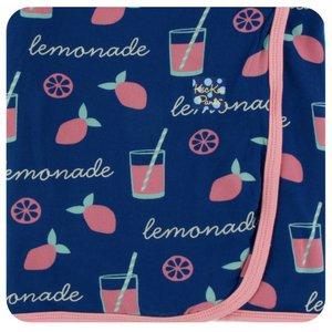 Kickee Pants Print Swaddling Blanket  (Pink Lemonade - One Size)