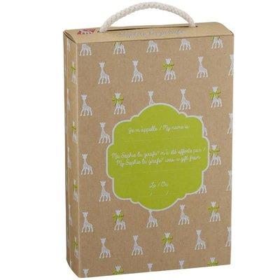 Calisson Inc. Sophie the giraffe in So'pure box