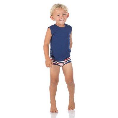 Kickee Pants Training Pants Set (Vintage Stars & USA Stripes)