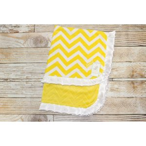 "Lincoln&Lexi Chevron Fun-Yellow 30""x36"""