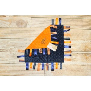 "Lincoln&Lexi Illinois Love 16""x16"" Ribbon"