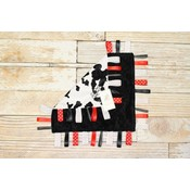 "Lincoln&Lexi The Cowtastic 16""x16"" Ribbon"
