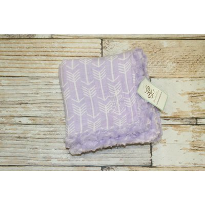 "Lincoln&Lexi Lilac Arrow Embrace Blanket 30""x36"""