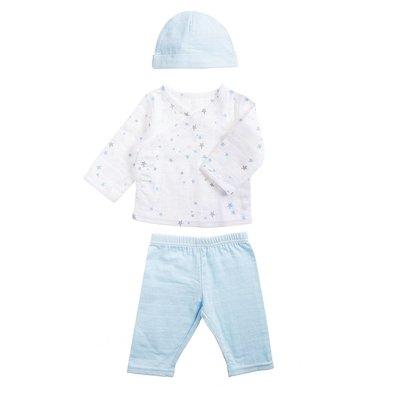 aden+anais night sky starburst newborn set